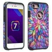 SumacLife Back Cover Case iPhone 7 Plus 7s Plus Raimbow Petals
