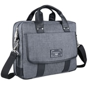 Vangoddy Chrono Grey Laptop Messenger Bag, 13 Inch x 14 Inch