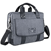 Vangoddy Chrono Laptop Messenger, Gray (MSBLEA134)