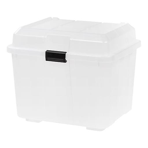 IRIS® Utility Trunk, Clear, 4 Pack (139781)