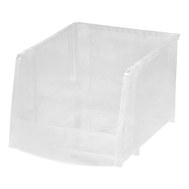 IRIS® Extra Large Bin, Clear, 6 Pack (200540)