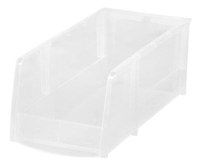 IRIS® Large Bin, Clear, 8 Pack (200530)