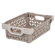 IRIS® Small Decorative Basket, 3 Pack, Tan (586100)