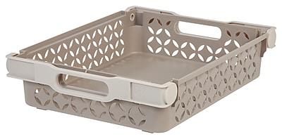 IRIS® Medium Decorative Basket, 2 Pack, Tan (586102)