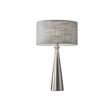 Adesso Table Lamp Brushed Steel (1517-22)