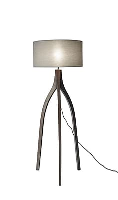 Adesso Floor Lamp Rustic wood (3838-06)