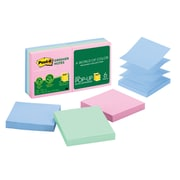 """Post-it® Greener Pop-up Notes, 3"""" x 3"""", Helsinki Collection, 6 Pads (R330RP-6AP)"""