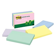 """Post-it® Greener Notes, 3"""" x 5"""", Helsinki Collection, 5 Pads (655-RP-A)"""