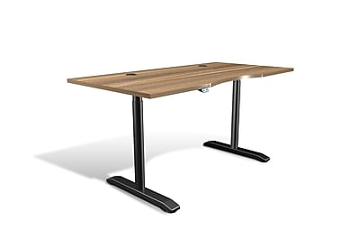 Unique Furniture 100 Collection Electric Height Adjustable Standing Desk 65
