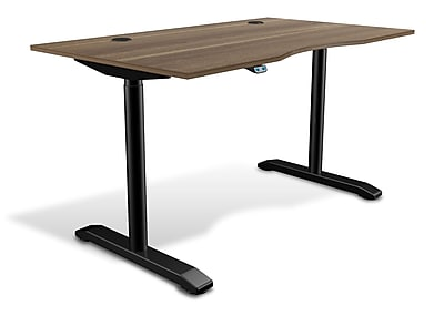 Unique Furniture 100 Collection Electric Height Adjustable Standing Desk 55