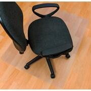 "Ecotex Enhanced Polymer Rectangular Chair Mat for Hard Floors 48"" x 51""(FRECO124851EP)"