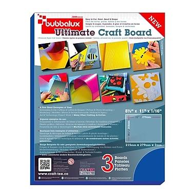 Bubbalux Ultimate Craft Board, Letter Size in Marine Blue (6 Pack)(FPBU118BL2)