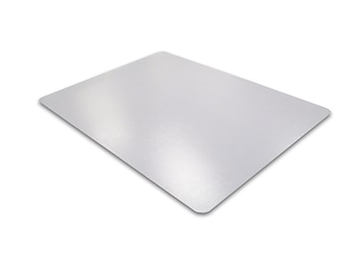 Phthalate Free PVC Rectangular Chair Mat for Hard Floors 45