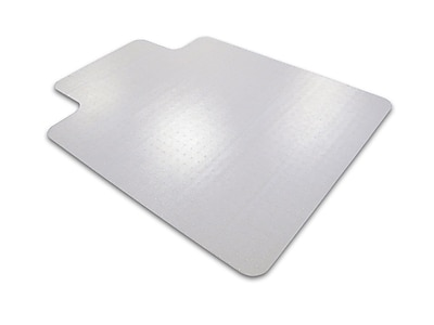 Cleartex Advantagemat PVC Clear Chair Mat for Carpets Over 3/4