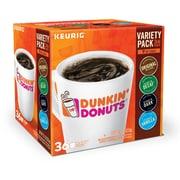 Dunkin Donuts Variety Pack, Keurig Single Serve Sampler, 36 Count (380830)