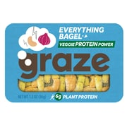 Graze Snack Mix, Everything Bagel, 1.3 Oz., 6/Box (NDD10123)