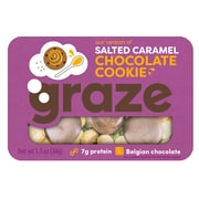 Graze Snack Mix, Salted Caramel Chocolate Cookie, 1.3 Oz., 6/Box (NDD10126)