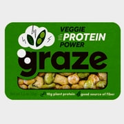 Graze Snack Mix, Veggie Protein Power, 1.3 oz, Pack of 12 (NDD10121)