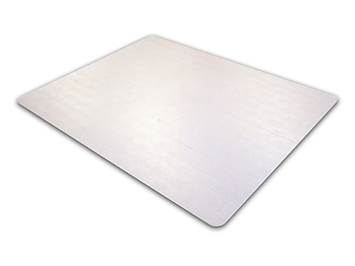 Cleartex Advantagemat PVC Rectangular Chair Mat for Standard Pile Carpets 3/8