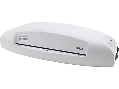 """Staples Thermal & Cold Laminator, 9.5"""" Width, White (5738801)"""