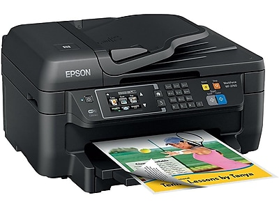 Epson WorkForce WF-2760 C11CF77201 USB, Wireless, Network Ready Color Inkjet All-In-One Printer