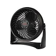 "Honeywell TurboForce Air Circulator 10.91"" 3 Speed Floor Fan, Black (HT-900)"