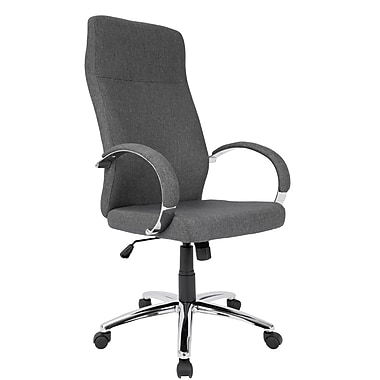 Lumisource Ambassador Contemporary Fabric Office Chair