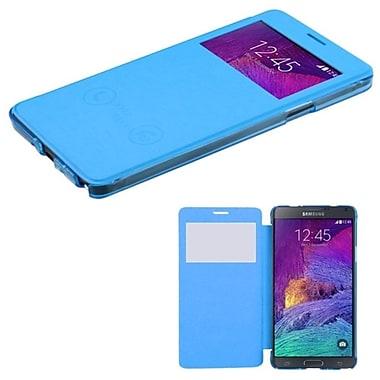 Insten ? Étui folio en cuir pour Samsung Galaxy Note 4, bleu (1999434)