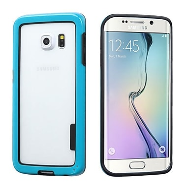 Insten Rubber Bumper For Samsung Galaxy S6 Edge - Blue