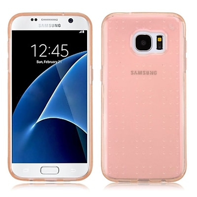 Insten Rubber Case For Samsung Galaxy S7 - Rose Gold