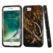 Insten Vines Hard Hybrid Rubber Silicone 3-Layer Case For Apple iPhone 7