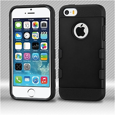 Insten Hard TPU Case For Apple iPhone SE / 5 / 5S - Black