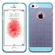 Insten Rubber Skin Case For Apple iPhone SE / 5 / 5S - Blue