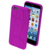 """Insten Purple Basketball Texture TPU Gel Rubber Candy Skin Case for iPhone 6S 6 4.7"""""""
