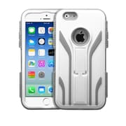"Insten Tuff Extreme Hard Hybrid Shock Resistant Plastic Silicone Case For iPhone 6S 6 4.7"" - White/Gray"