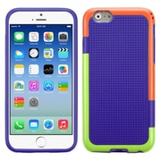 "Insten Hard TPU Case For iPhone 6S 6 4.7"" - Purple/Orange"