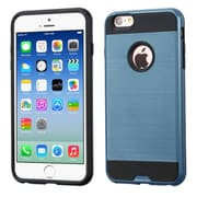 Insten Hard Hybrid Silicone Case For Apple iPhone 6 / 6s - Blue/Black