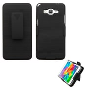 Insten Hard Case w/Holster For Samsung Galaxy Grand Prime - Black