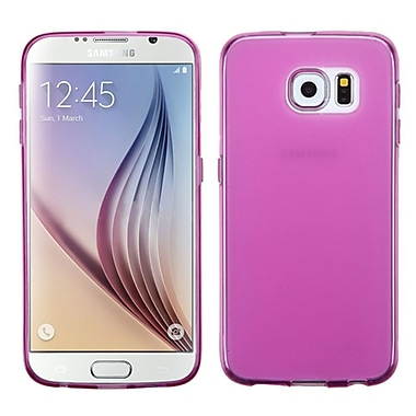 Insten ? Étui en caoutchouc rigide pour Samsung Galaxy S6, rose vif (2089152)