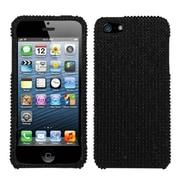 Insten Black Luxury Diamond Case Bling Diamante Hard Cover For Apple iPhone SE 5S 5