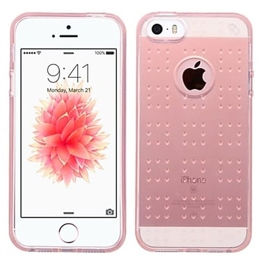 Insten TPU Case For Apple iPhone SE/5/5S, Rose Gold (2237484)