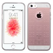 Insten Rubber Skin Case For Apple iPhone SE / 5 / 5S - Smoke