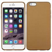 "Insten Dots Gel Cover Case For Apple iPhone 6 Plus 5.5"" - Gold"