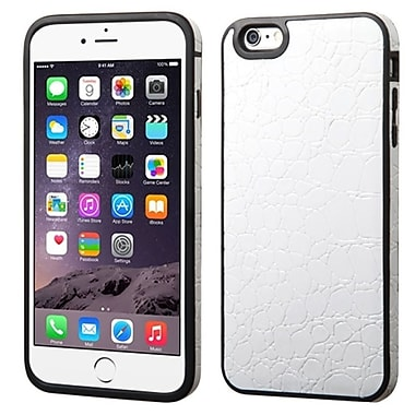Insten Crocodile TPU Case For Apple iPhone 6 Plus - White