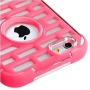 Insten Lightning Pink Brick GloCase Hybrid Hard Shockproof Cover Case for Apple iPhone 6 6S 4.7""