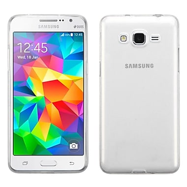Insten TPU Rubber Candy Skin Case Cover For Samsung Galaxy Grand Prime, Clear (2181296)
