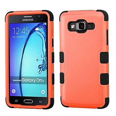 Insten Tuff Hard Hybrid Rubber Coated Silicone Case For Samsung Galaxy On5 - Orange/Black