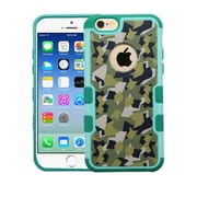 Insten Camouflage Hard Case For Apple iPhone 6/6s - Green/Black
