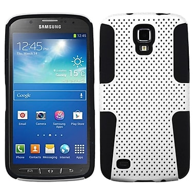 Insten Astronoot Phone Protector Case Cover For Samsung Galaxy S4 Active, White/Black (1290512)