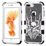 Insten Sword & Skull/Black TUFF Hybrid Dual Layer Case Cover for Apple iPhone 7 Plus